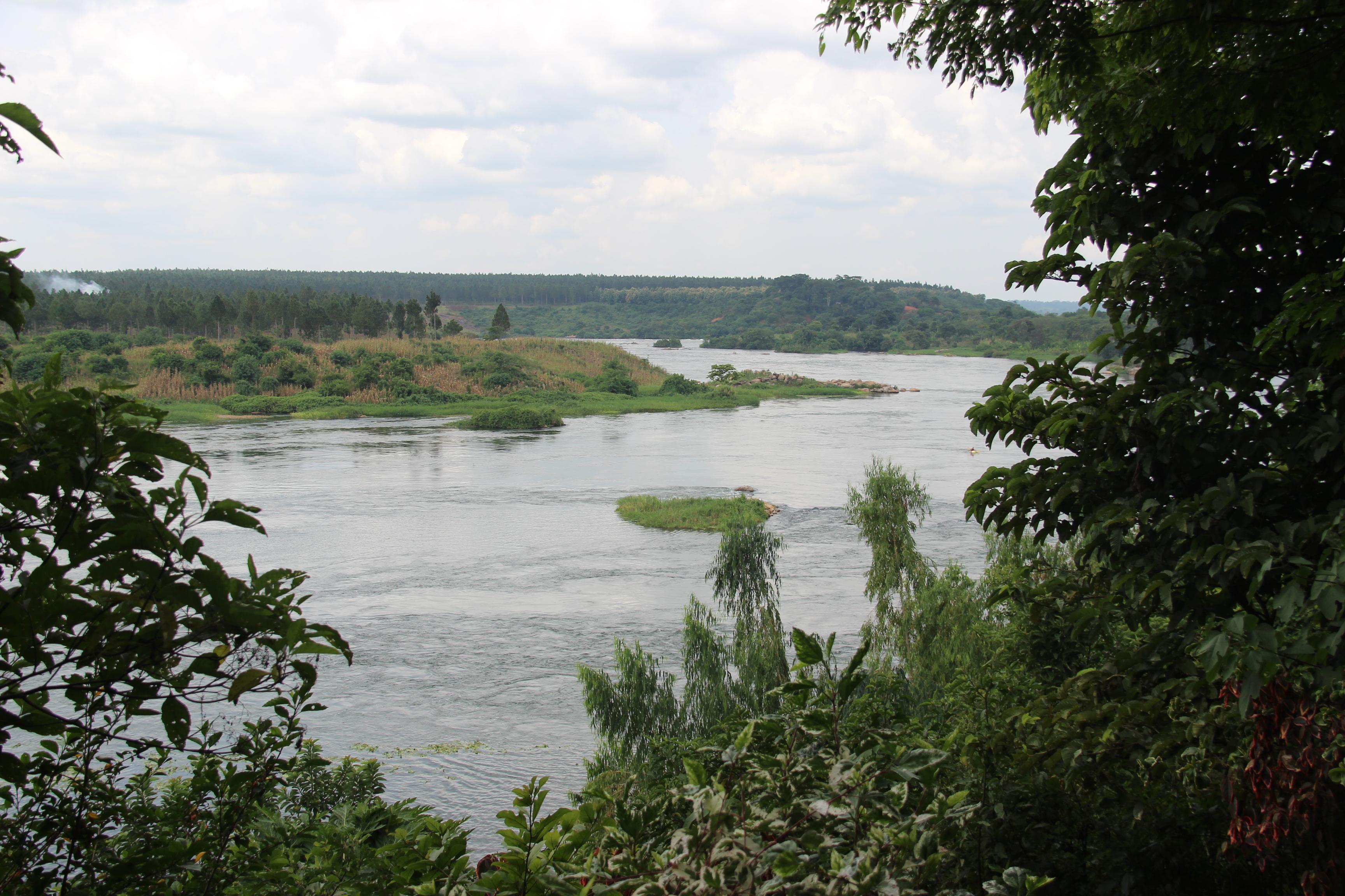 The White Nile, Jinja, Uganda.
