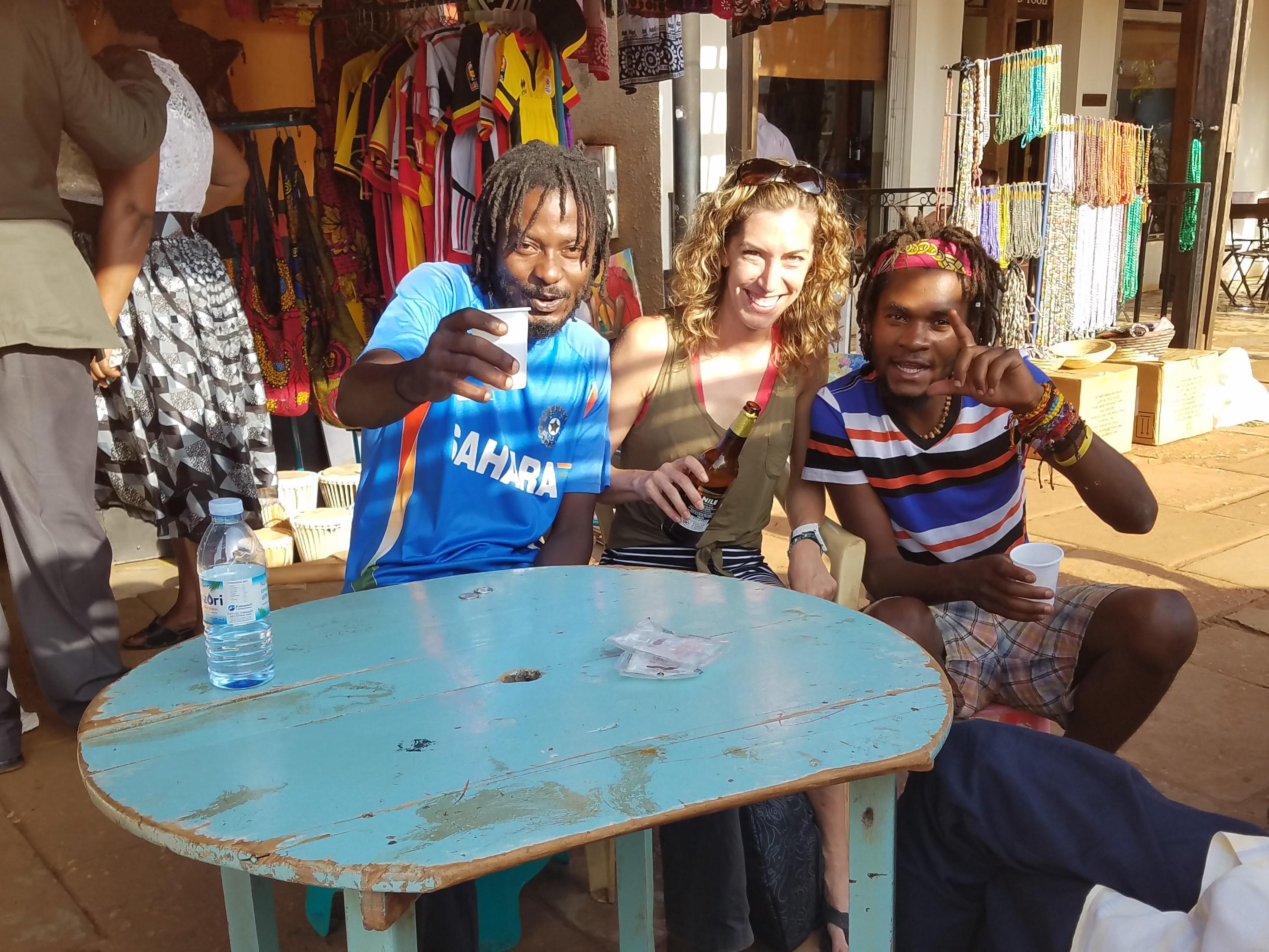 Jinja, Uganda, T-Bag, Wyclef
