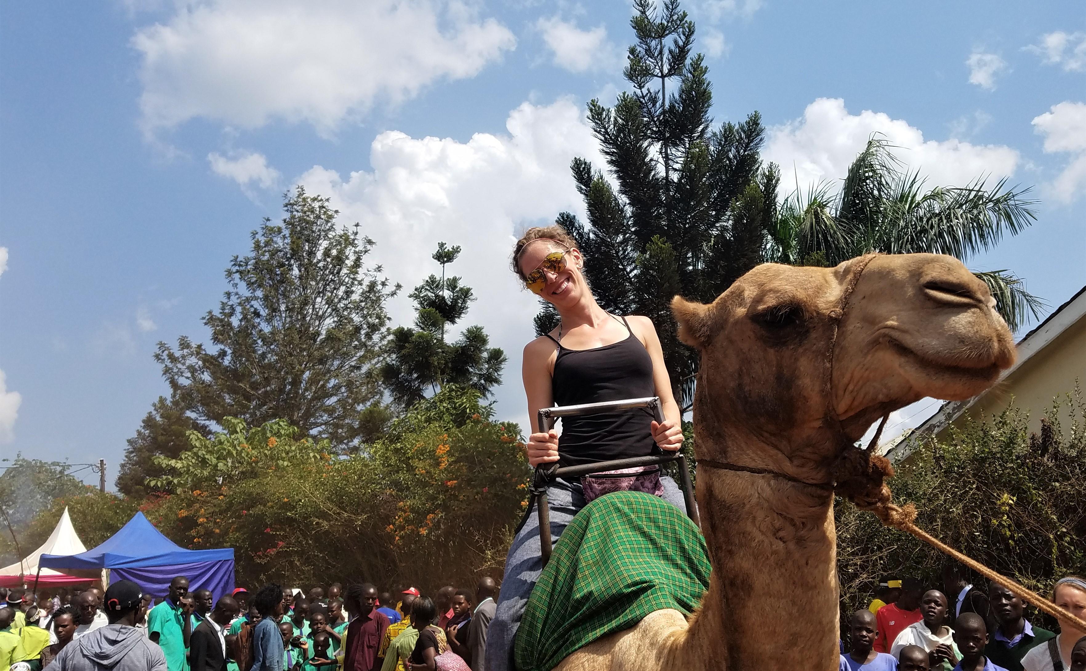 Jinja, Uganda, East Africa, Camel Ride, Agricultural Show