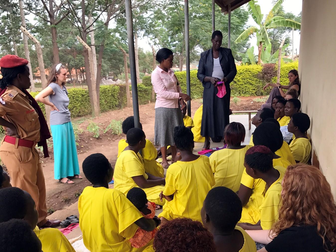 Iganga Prison, Uganda, Women's Prison, Feminine Hygience