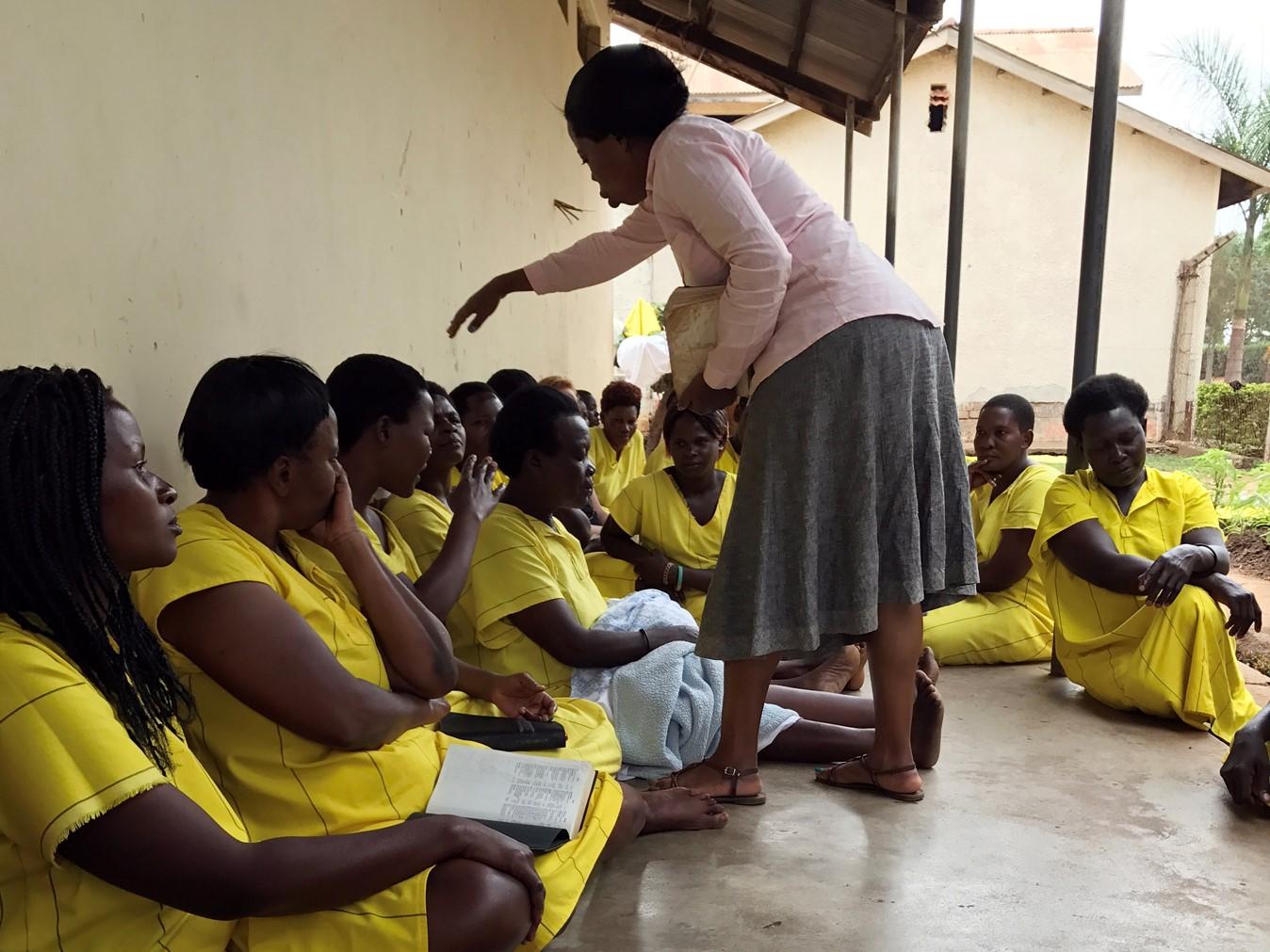 Faith healing, tongues, Prison, Uganda, Pentecostal