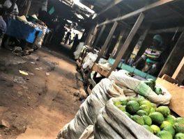 Iganga, Uganda, market, main market