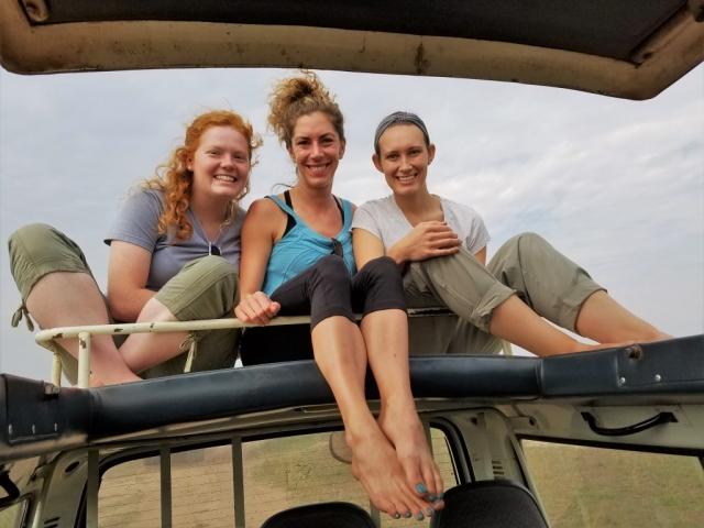 safari, Uganda, Red Chili, Queen Elizabeth National Park, safari vehicle, pop-top