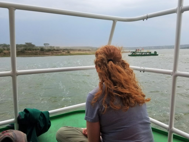 safari, Uganda, Red Chili, Queen Elizabeth National Park, boat